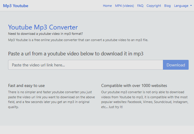 download mp3 youtube videos online free