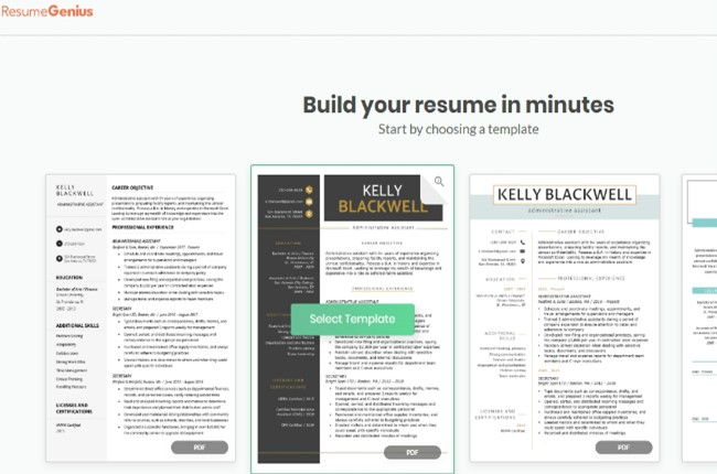 5 Excellent Resume Creators To Help You Make An Extraordinary Resume