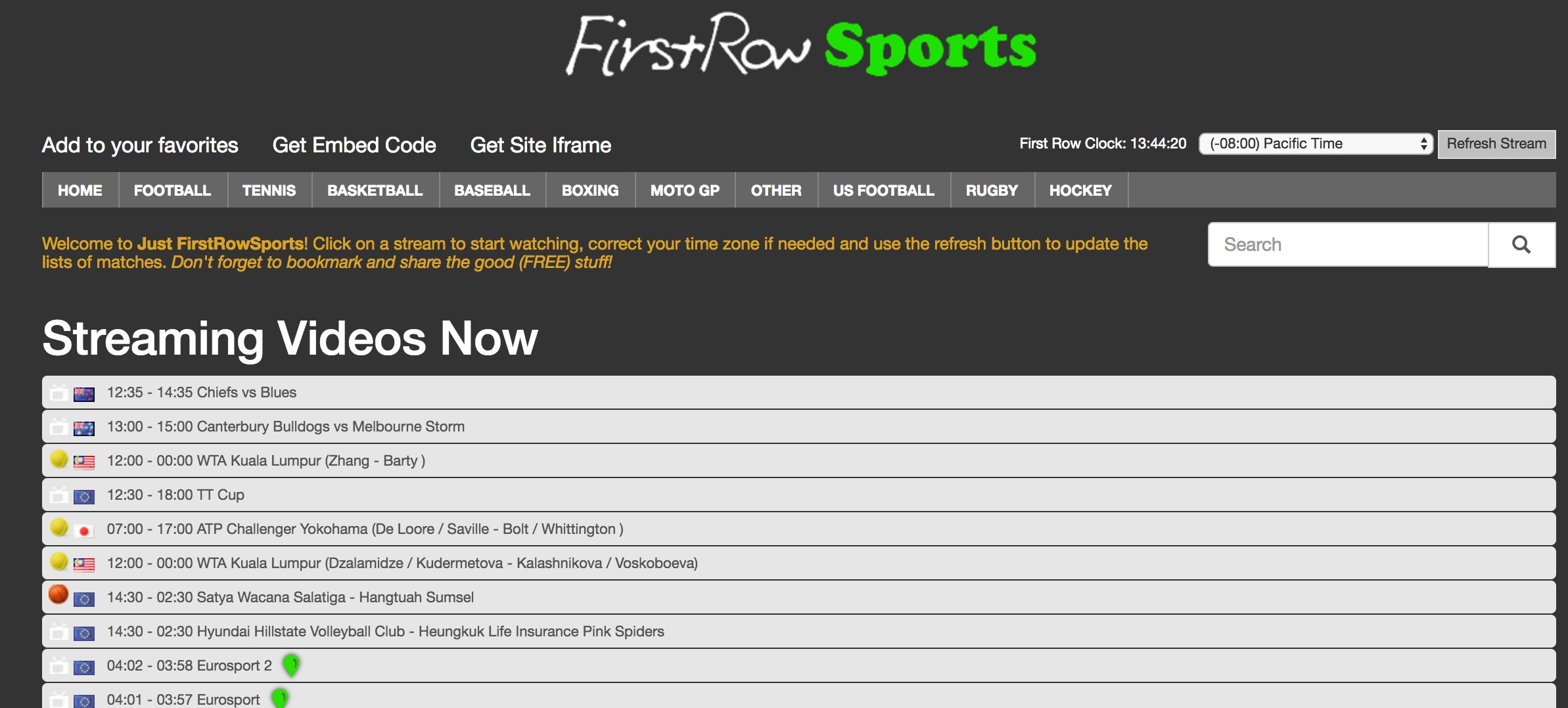free live darts streaming first row